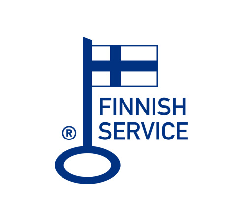 Key Flag Symbol - The sign of Finnish Work